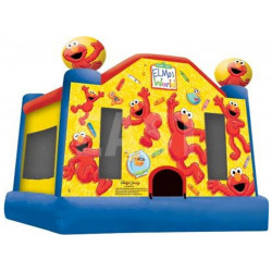Elmo Bouncy Castle