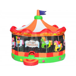 Inflatable Fun Carousel Bouncy House