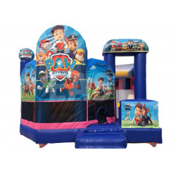 Paw Patrol Bouncy Castle With Slide