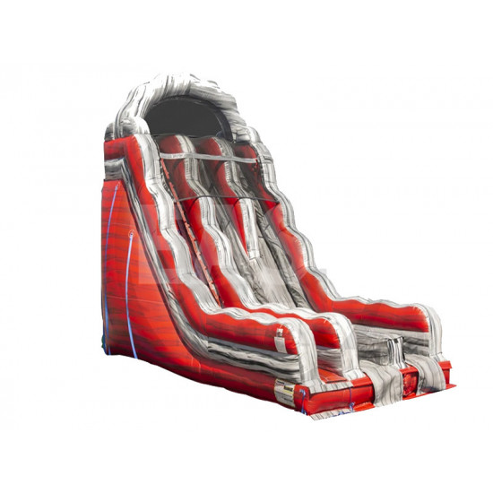 22ft Inflatable Liquid Magma Dry Slide