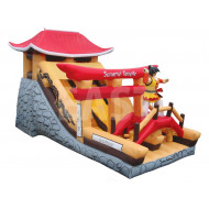 Samurai Temple Inflatable Slide