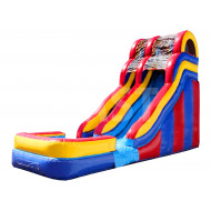 Inflatable Single Water Slide