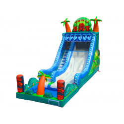 Inflatable Tiki Falls Water Slide