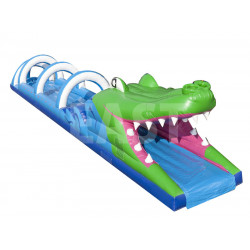 Crocodile Inflatable Water Slide