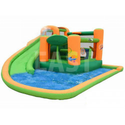 Splash And Slide Inflatable Water Slide