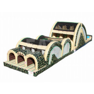 Army Inflatable Obstacle Course