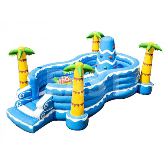 Seaworld Inflatable Play Island