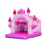 Pink Bounce House