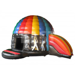 Disco Dome With Slide
