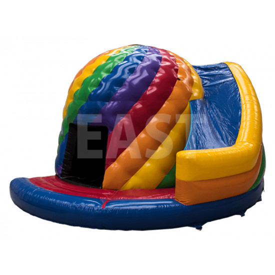 Disco Bounce House With Slide