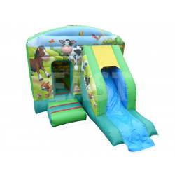 Farm Bounce House Slide