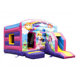 Princess Bounce House With Slide