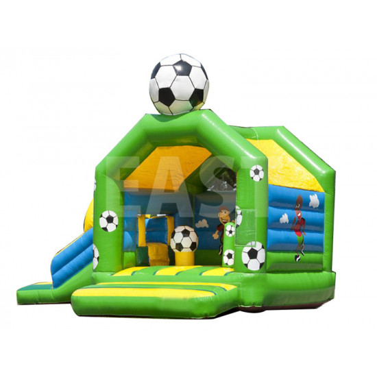 Football Bounce House With Slide
