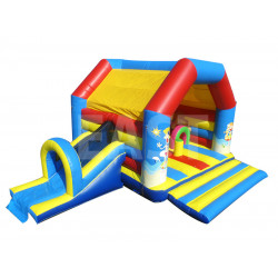 Beach Bounce House With Slide