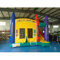 Crayon Inflatable Castle