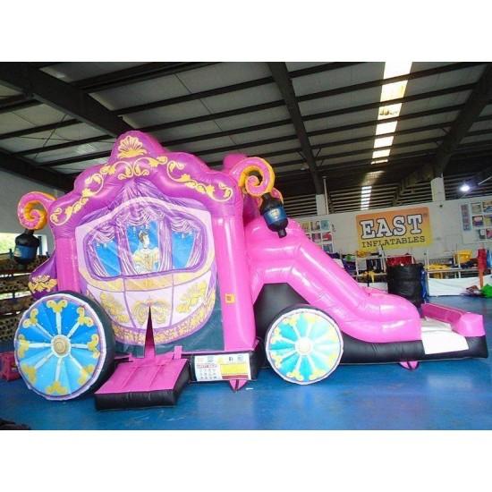 Princess Carriage Bouncy Castle